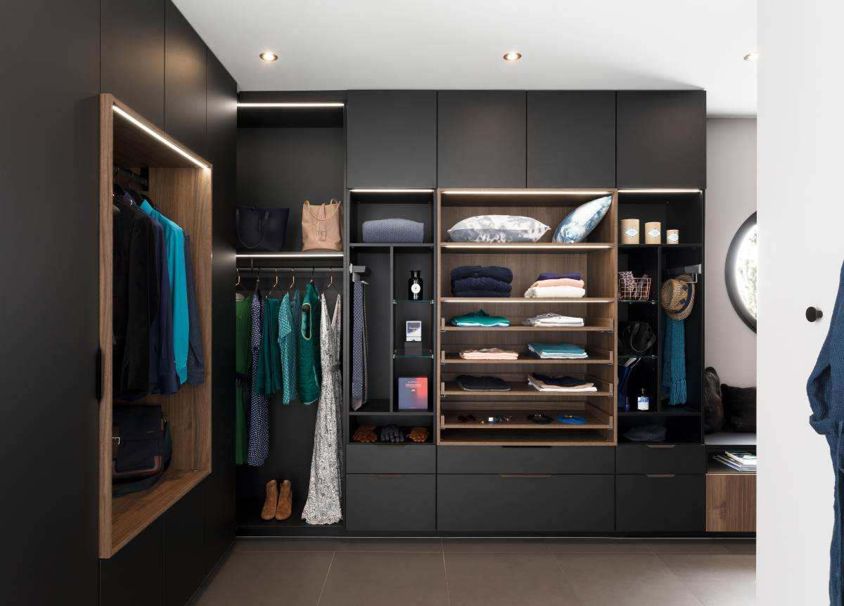 Amenagement Dressing Sur Mesure Chambre Parentale Perene