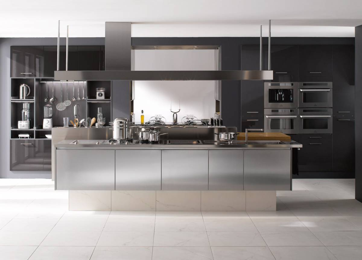 Cuisine inspiration professionnelle perene for Meuble cuisine inox professionnel
